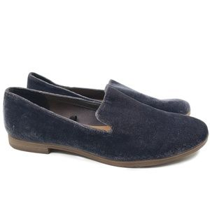 Dolce Vita Velvet Slip On Smoking Loafers Flats